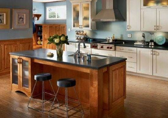 Wall, Kitchens Ideas, White Cabinets, Kitchen Islands, Kitchen Designs