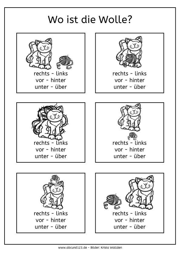 Niedlich Lernfarben Arbeitsblätter Für Vorschulkinder Bilder ...