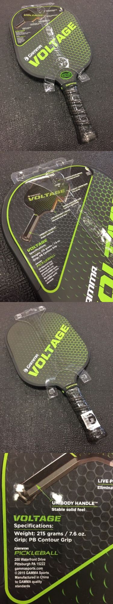 Other Tennis and Racquet Sports 159135: New Gamma Voltage Pickleball Paddle -> BUY IT NOW ONLY: $99 on eBay!