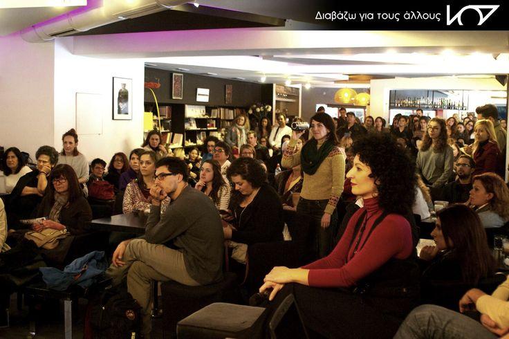 Ρία,Μαρία και όλοι οι εθελοντές μας στην 8η συνάντηση εθελοντών Αθήνας_30-10-2015