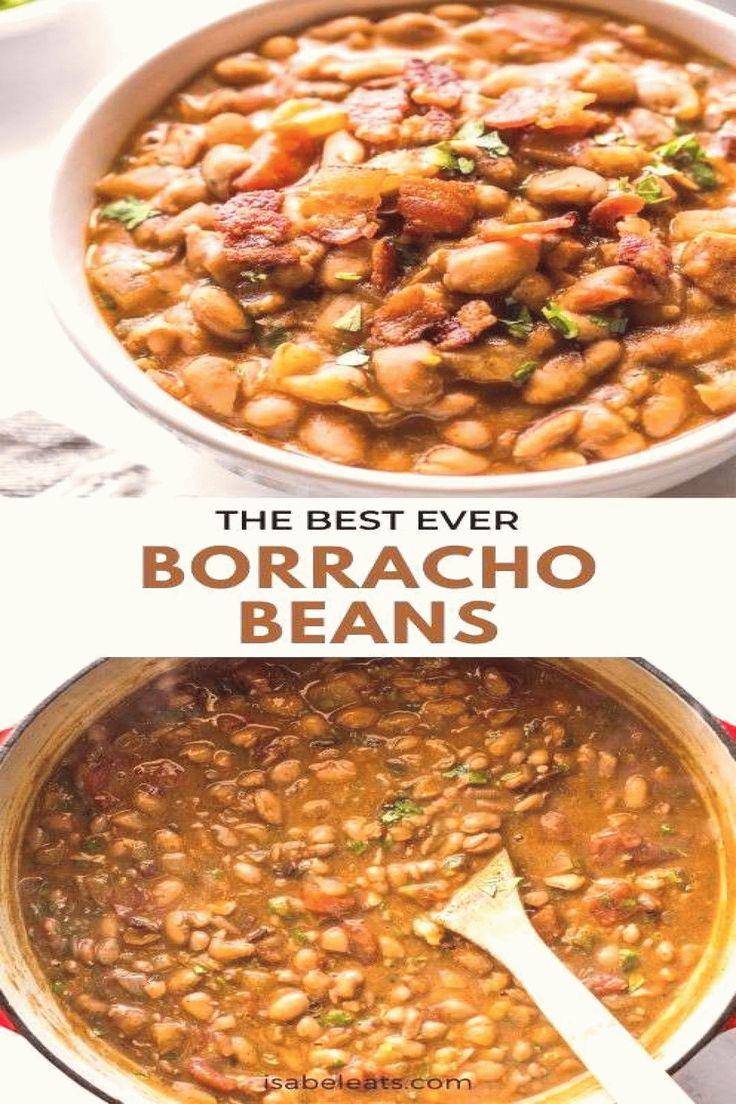 Borracho Beans Frijoles Borrachos Isabel Eats Tender and ...