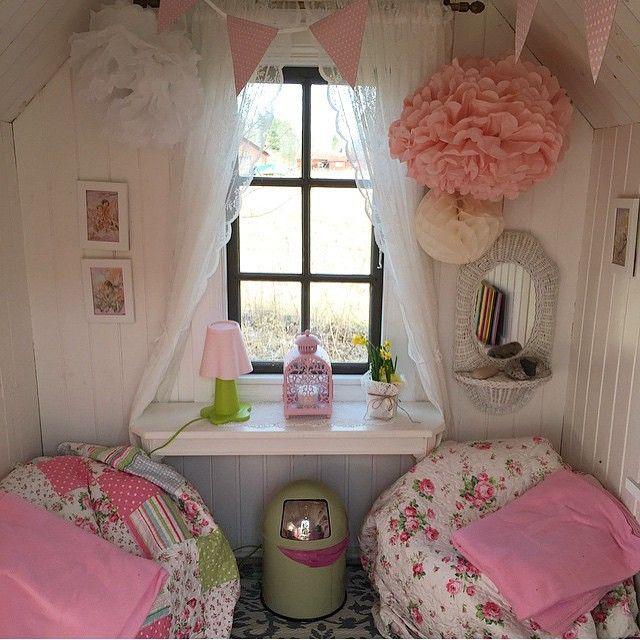 Inside a playhouse