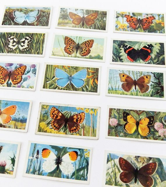 British Butterflies - Brooke Bond tea cards