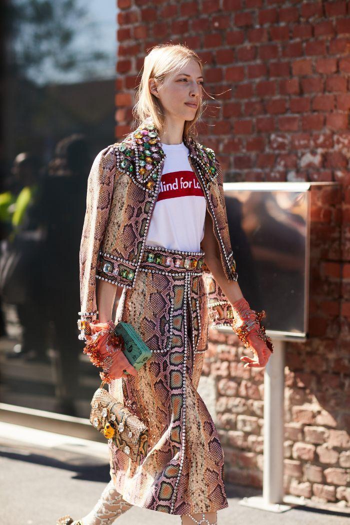 The Best of Milan Fashion Week Street Style via @WhoWhatWear