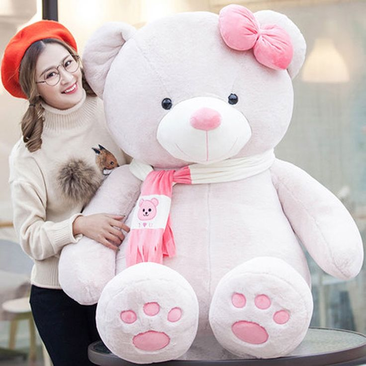 47.37$  Watch now - http://ali0fo.shopchina.info/go.php?t=32804965488 - Cartoon Plush Animals Large Teddy Bear Stuffed Toy Cute Pillow Peluches Grandes Birthday Gift Ursos De Pelucia Doll Toy 50G0474 47.37$ #aliexpress