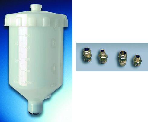 Πιστόλια βαφής :: Αναλώσιμα :: CO 411 Δοχείο 500 ml - painthouse.gr