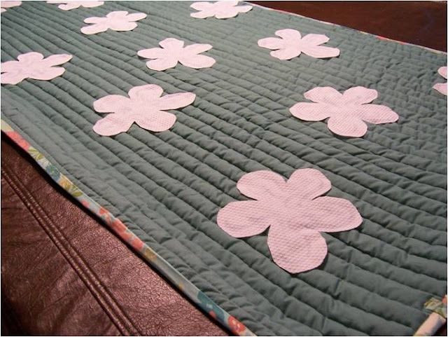 Quilted Yoga Mat. Very easy to wash!