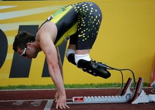 Oscar Pistorius - Paralympian and Olympian!