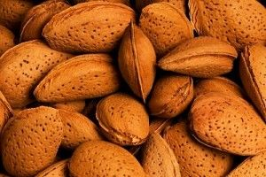 Almonds, Brazil nuts, Chestnuts, Peanuts nutrition information