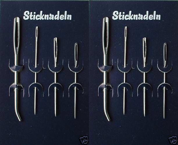 Artibetter 1 x Sticknadel-Set Stickstift-Set f/ür Handwerk und N/äharbeiten. Sticknadel-Set Sticknadel-Set