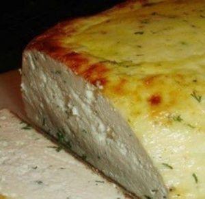 Сыр домашний, запеченный…