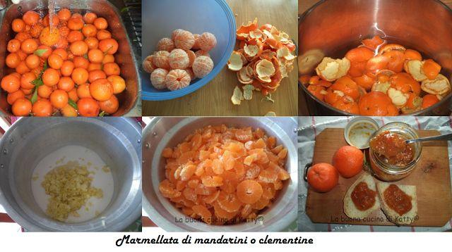 La buona cucina di Katty: Marmellata di mandarini o clementine
