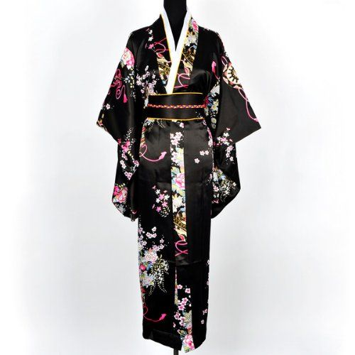Japanerin Geisha Kimono ca 27€ | Kostüm-Idee zu Karneval, Halloween & Fasching