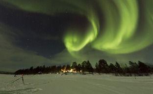 Aurora Borealis in Menesjarvi