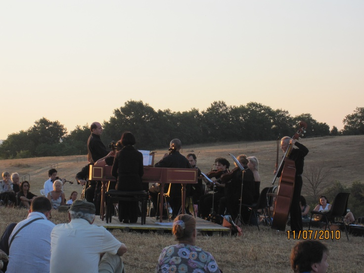 Classical music in the dawn at the Archaeological site of Ghiaccioforte, every year in July. #maremma, #tuscany, #italy