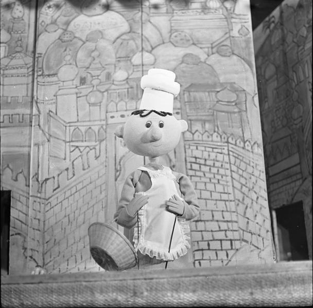 "Joachim Lawrence – ""Der kleine Muck,"" Berlin Puppet Theater, 1967"