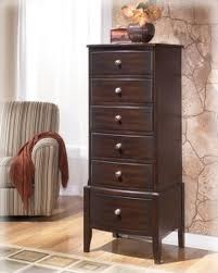 week 6 (#3) lingerie chest: a tall, narrow dresser featuring a single column of drawers, numbering between five and seven. they are used for smaller, more delicate items of clothing.