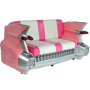 woow! sillón rosa