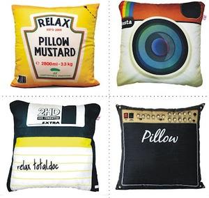 Almofadas personalizadas!!! Outras dicas: facebook, twitter, photoshop...