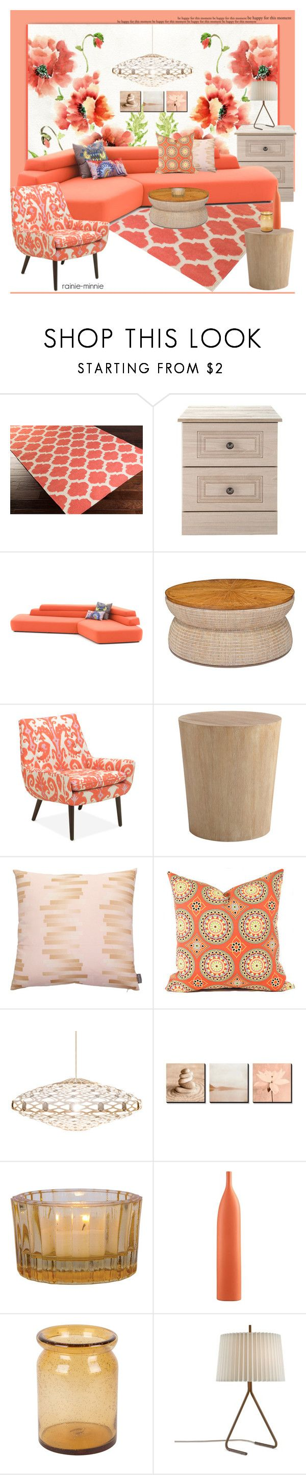 Home decor collage from january 2017 featuring currey company -  Floral Wallpaper By Rainie Minnie On Polyvore Featuring Interior Interiors Interior Design Home Home Decor Interior Decorating Surya Moroso