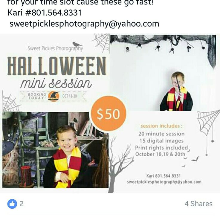 Skip your fall and do you halloween mini session. Photographers, you gonna need this! Beautiful photos are made by Sweet Pickles Photography. We wish you have a success halloween session. Good luck!