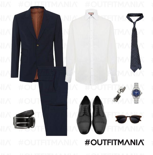 outfit per matrimonio di pomeriggio | Abito tinta unita nei colori che spaziano dal grigio melangè al blu classico o notte, con cravatta dai colori non troppo vivaci... | #outfitmania #outfit #style #fashion #dresscode #amazing #shoes #hugoboss #orologio #suit #tagheurer #man #parties #gemelli #shirt #jacket #event #scarpe #suitsupply | CLICCA SULLA FOTO PER SCOPRIRE L'OUTFIT E COME ACQUISTARLO