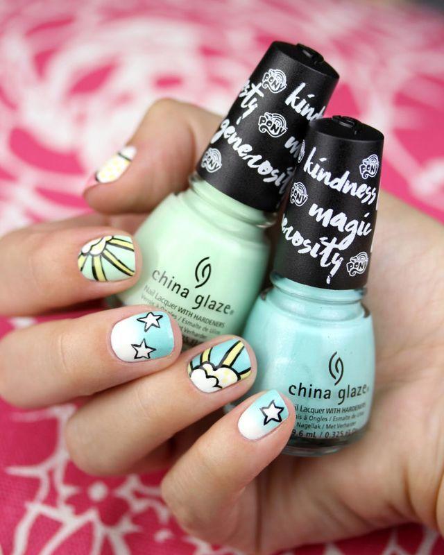 Encantador Uñas Lindo Tumblr Regalo - Ideas Para Esmaltes - aroson.com