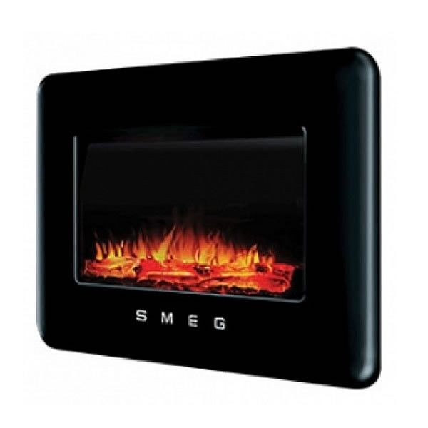 Buy the Smeg L30FABBL 50's Retro Style Flueless Landscape Gas Fire in Black from Sonic Direct for only £549.99 today.