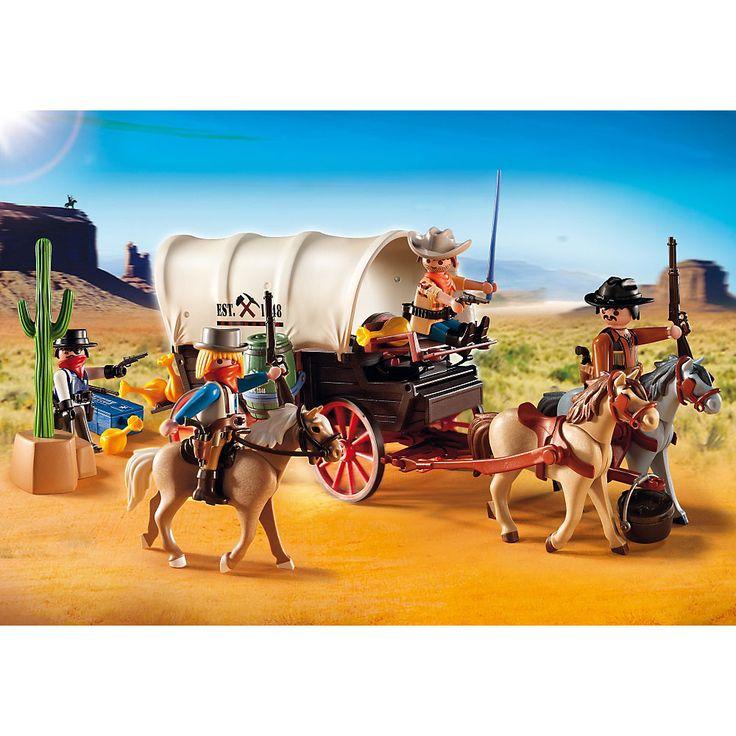 Playmobil Western Powóz z napadem rabunkowym, 5248, klocki