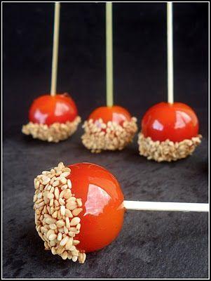 chic,chic,choc...olat: Tomates d'amour au sésame