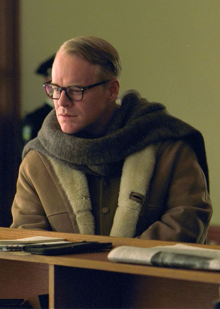 """The Brilliant One in """"Capote"""" - RIP Mr. Hoffman.  You will be so missed."""