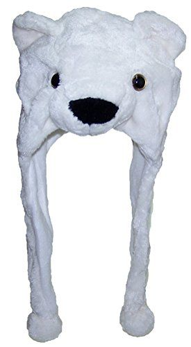 """Best Winter Hats Adult/Teen Plush Animal Character Ear Flap Hat - Polar Bear Outdoor Store [gallery]  3-D Animal Personality Winter Ear Flap Hat. The External Of The Hat Has A Polar Undergo Face With Sticking out Nose and Plastic Button Eyes. Ears On Most sensible. Heat Polyester Fleece To Duvet Your Ears.  Suits Any individual Up To 23″ Head Circumference  Plush External  Heat Polyester Fleece Liner  [amz_corss_sell asin=""""B009XDFCWQ""""]…"""
