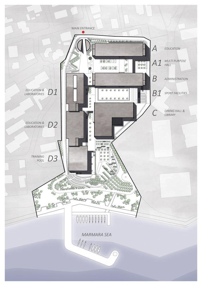 Piri Reis Maritime University  / Kreatif Architects