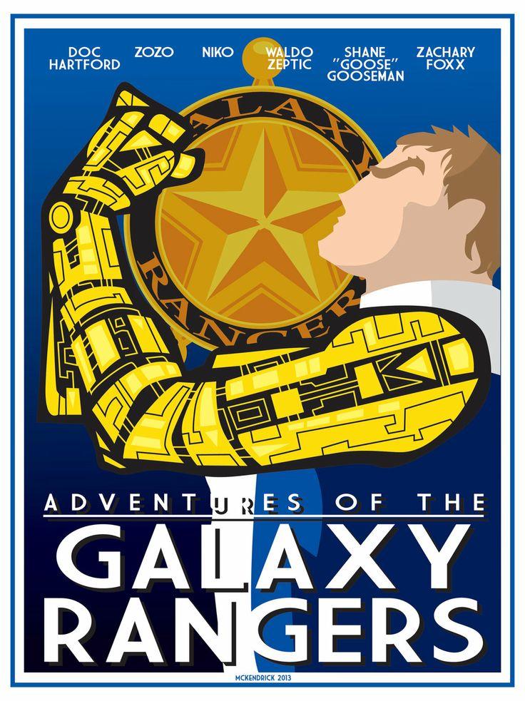 Galaxy Rangers by CuddleswithCats.deviantart.com on @deviantART