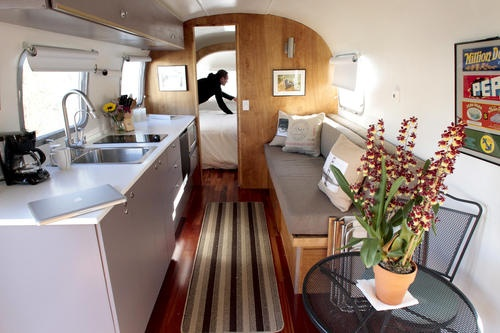 Photo tour: Airstream trailers transformed into hotel rooms by a Santa Barbara architect.