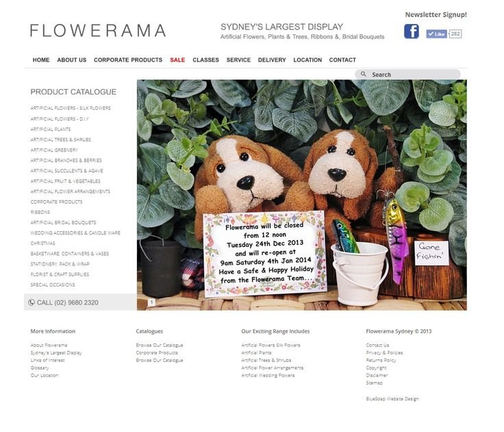 Dynamic, exciting enterprise fast becoming an industry leader. Flowerama know that an effective #online #strategy is essential. Flowerama embrace all new trends and it shows in the enormous popularity of their #website.