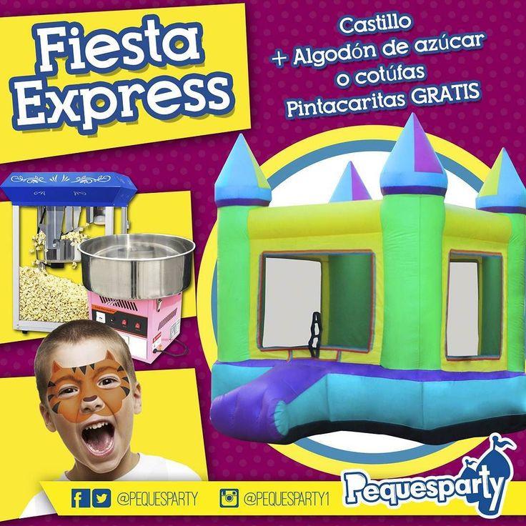 Necesitas una solución #economica para tu #fiesta? No busques más? Pregunta por nuestro servicio de #fiestaexpress disponible de#lunes a #jueves durante 3 horas. Un castillo #inflable de 4x4  la máquina de#algodon de azucar o de #cotufas (30 unidades) y las #pintacaritas te salen gratis.  PequesParty Fábrica de Sonrisas!  #fiestas #animacion #eventos #maracaibo #vzla #Occidente #cumple #yeah #castillos #Snacks #Party #activaciones #cool #mcbo #niños #kids #tobogan #animacion #261 #marketing…