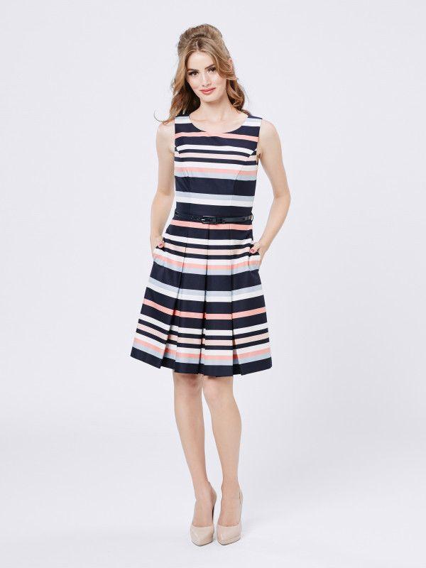 Horizon Stripe Dress size 12 179.99
