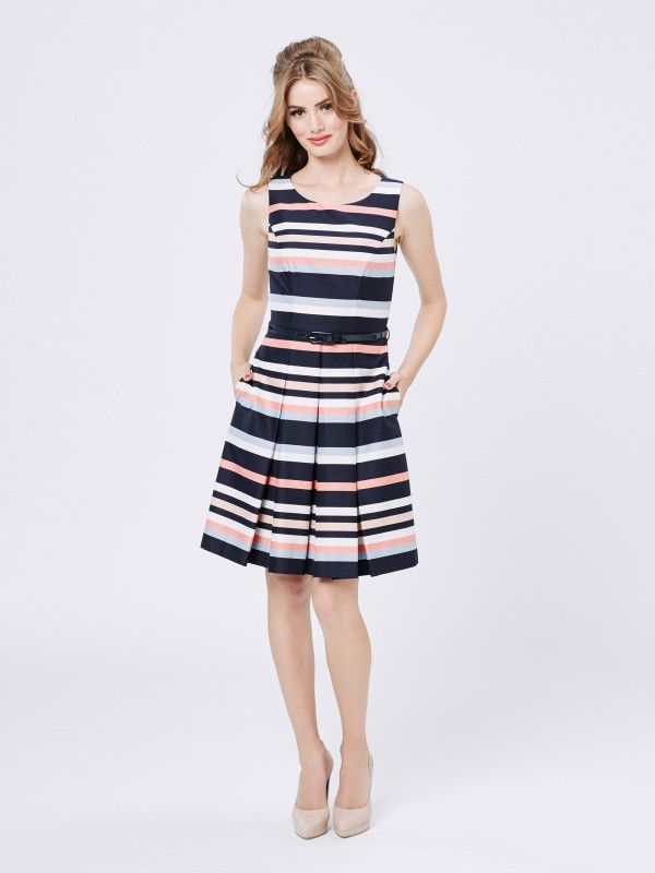 Horizon Stripe Dress size 12 179.99