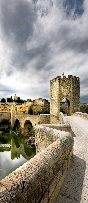 Besalú, Girona, Spain