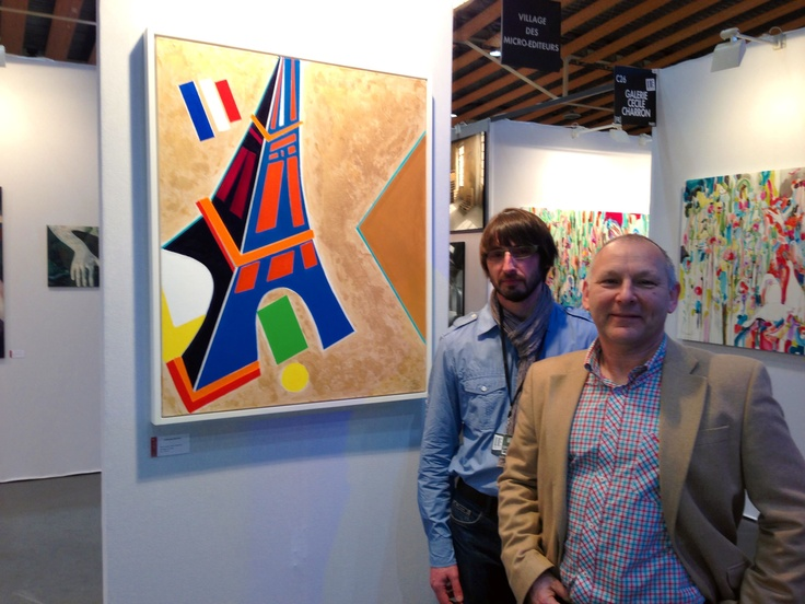 Lille Art Fair 2013 ~ Chris Billington with Michael Picoron
