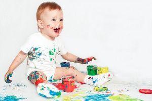 Arte para bebés: a partir de 10 meses