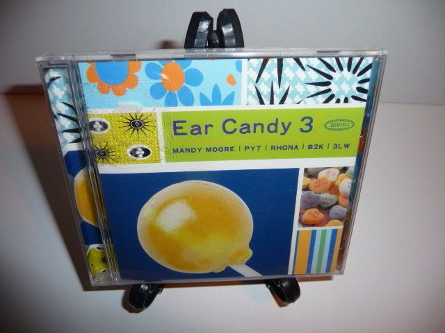 Epic Ear Cady 3 (CD, 2001, Sony Music) Mandy More, Rhona, B2K & 3LW New Sealed