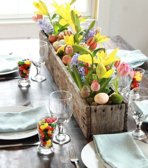 40 Colourful Easter Décor Concepts for Spring Properties and Vacation Tables