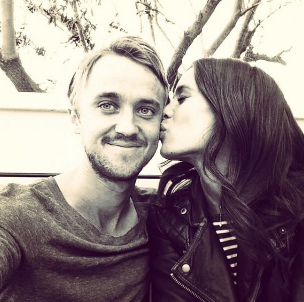 25 Impossibly Cute Photos of Tom Felton and Jade Olivia