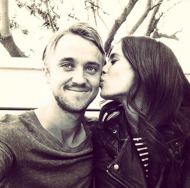 25 Impossibly Cute Photos of Tom Felton and Jade Olivia