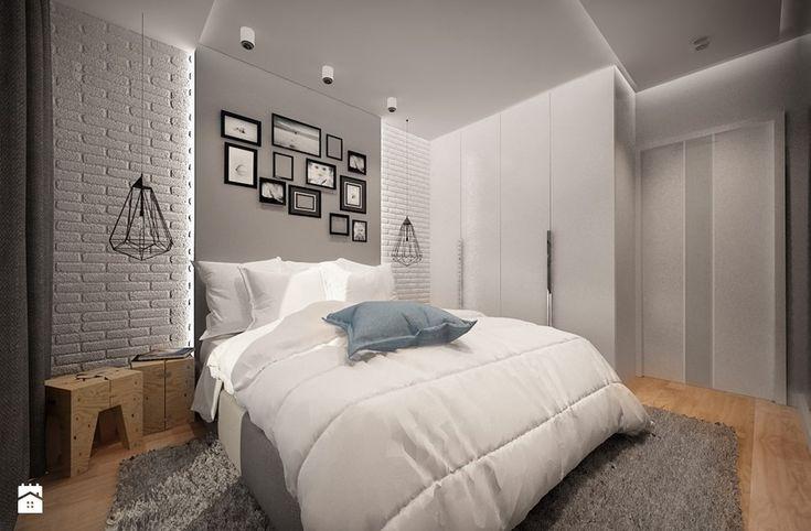 RODZINNY DOM POD WARSZAWĄ - Sypialnia, styl nowoczesny - zdjęcie od MKdesigner