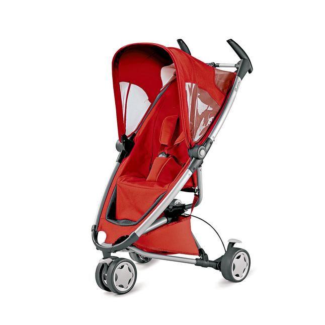 inkl. Einkaufskorb, Regen- & Sonnenverdeck, Sonnenschirm-Clip & Adapter, Aluminiumgestell, Feststellbremse, 5-Punkt-Sicherheitsgurt, für Kinder ab 6 Monaten bis max. 15 kg