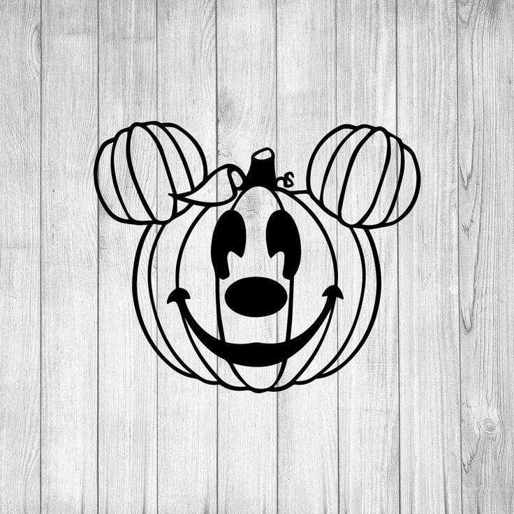 Mickey Mouse Pumpkin svg, Mickey Mouse Ears svg, Disney