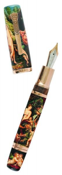"Krone Peter Paul Rubens Fountain Pen.""My passion comes from the heavens, not from earthly musings."" Peter Paul Rubens"